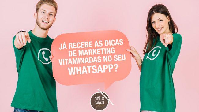 Grupo de WhatsApp para partilha e discussão de dicas de marketing digital e não só