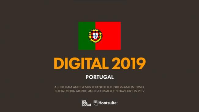 Relatório do panorama Digital Global em 2019
