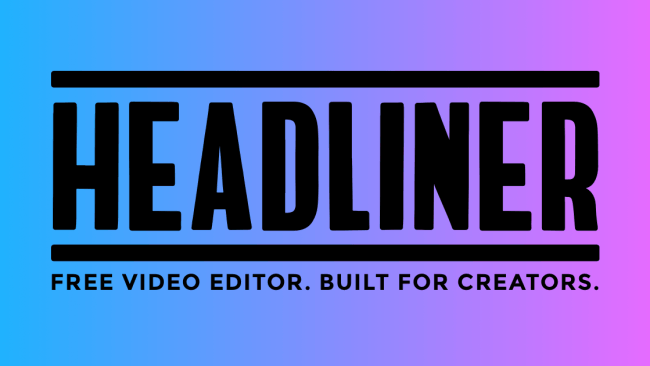 headliner editor vídeo