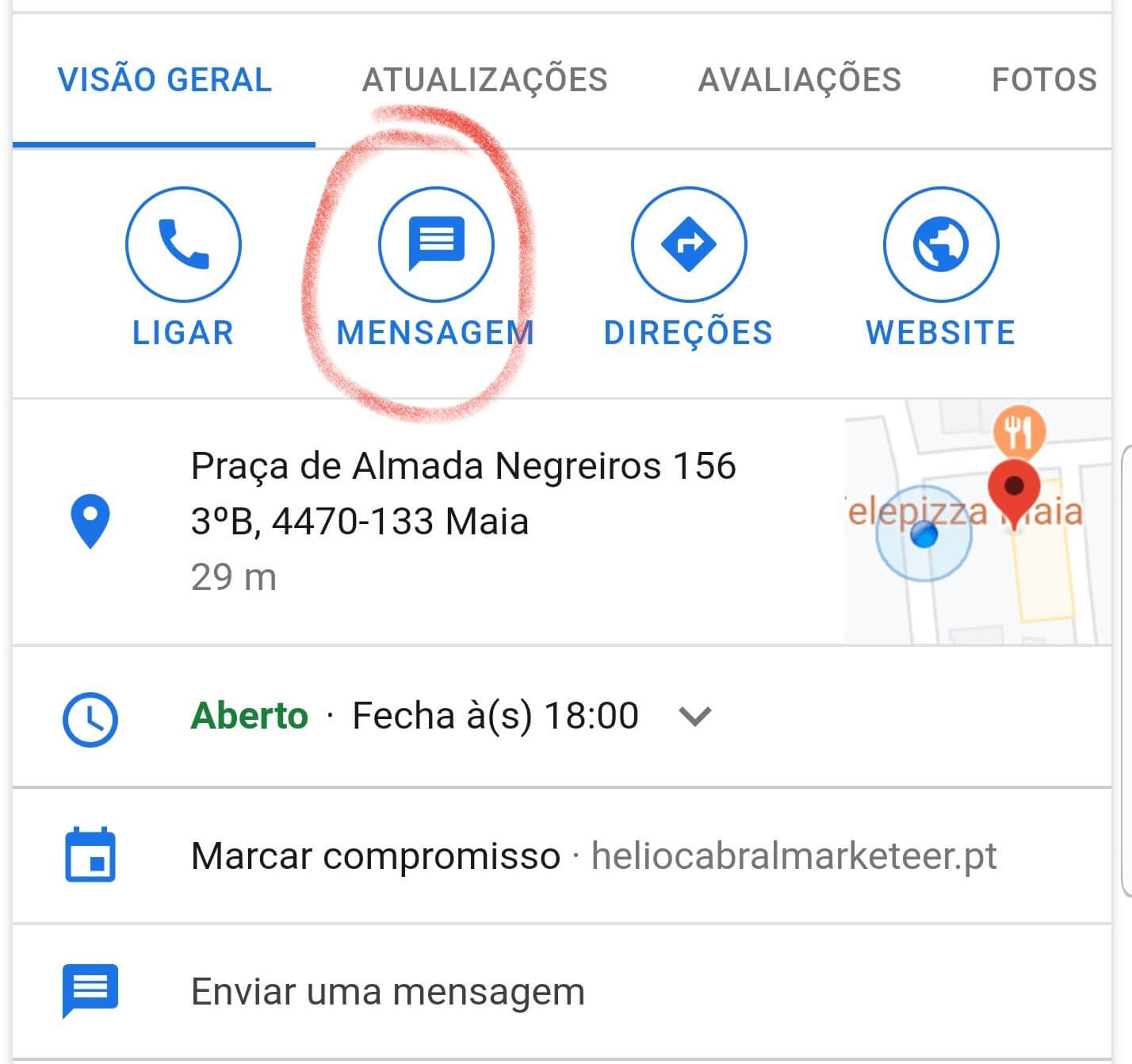 hélio cabral marketeer dicas marketing digital google my business