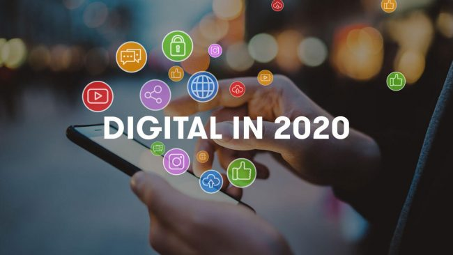 Global Report Digital 2020