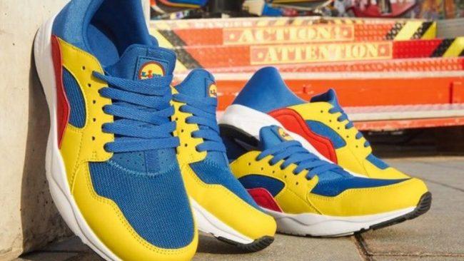 As sapatilhas sensação e uma história de marketing