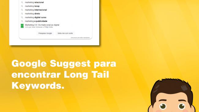 Google Suggest para encontrar Long Tail Keywords