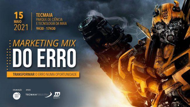 Organizámos o Evento Marketing Mix do Erro, o 1º evento em Portugal que aborda o Erro e a sua importância no Marketing